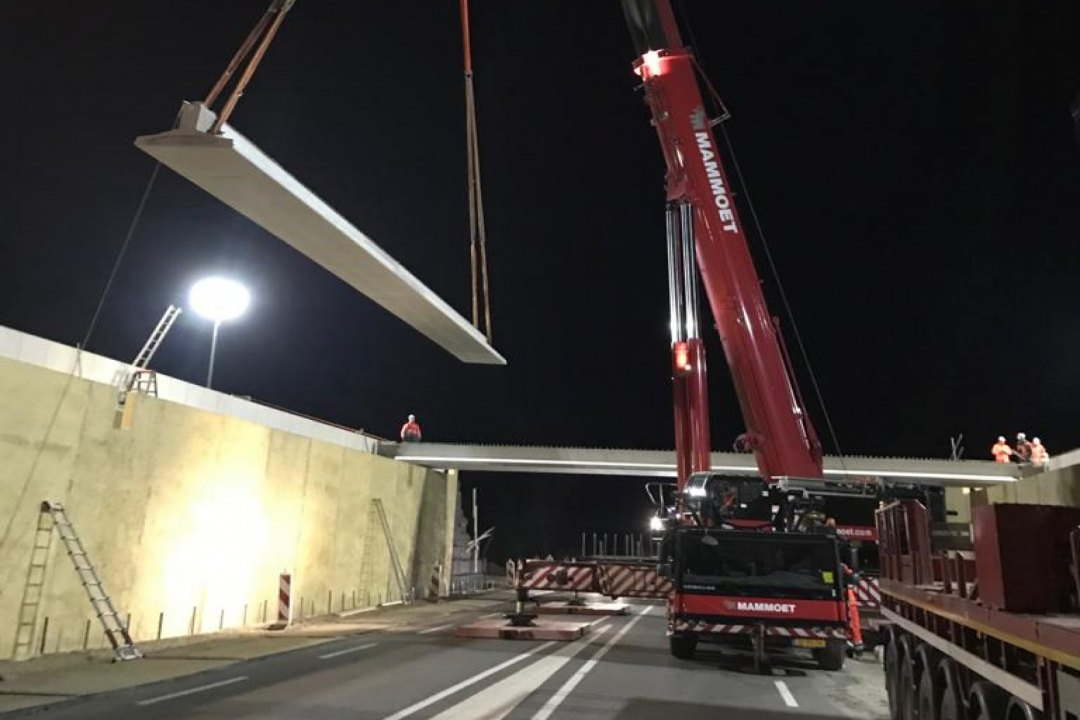 Brücken N302 en N344