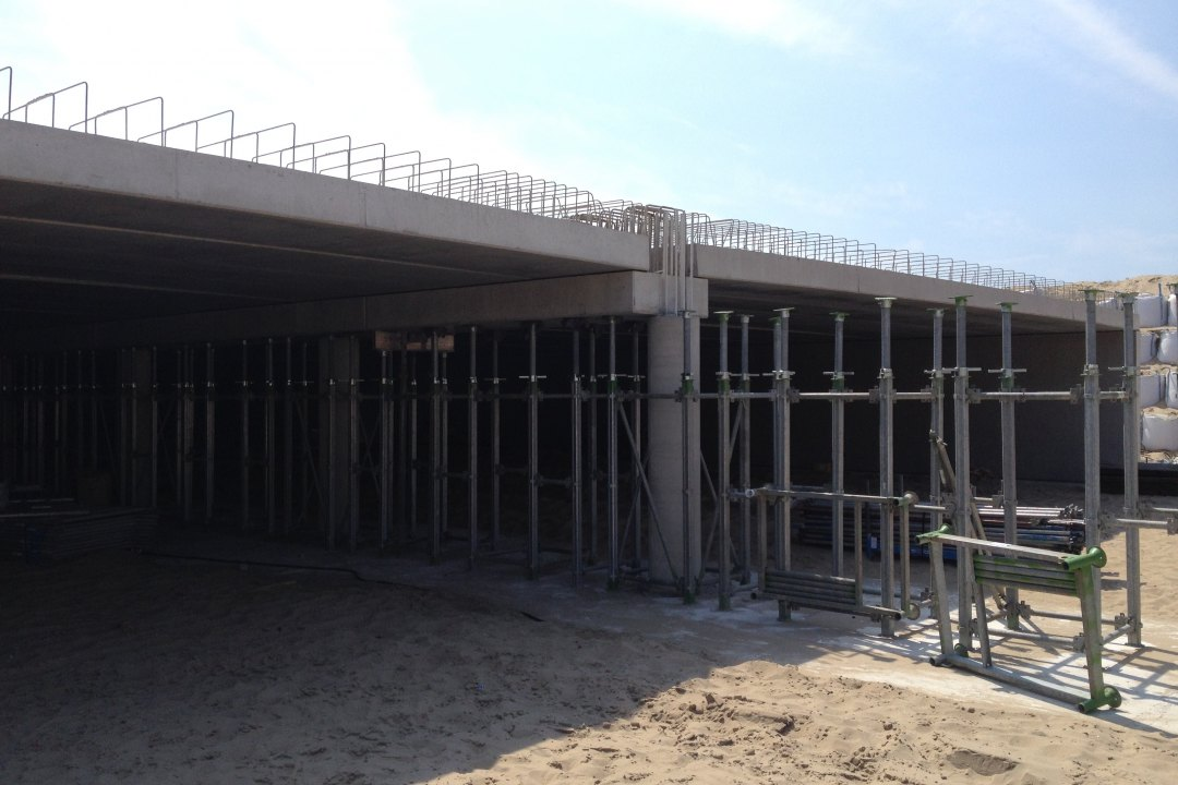coastal work Katwijk