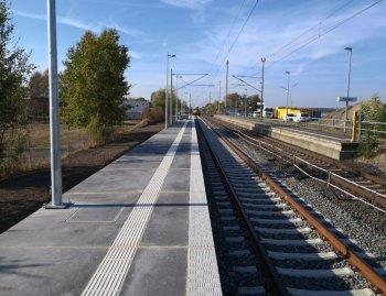 Bahnsteige Deutsche Bahn