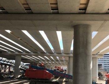 Kunstwerk 500 meter lang